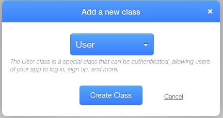 Userklasse erstellen